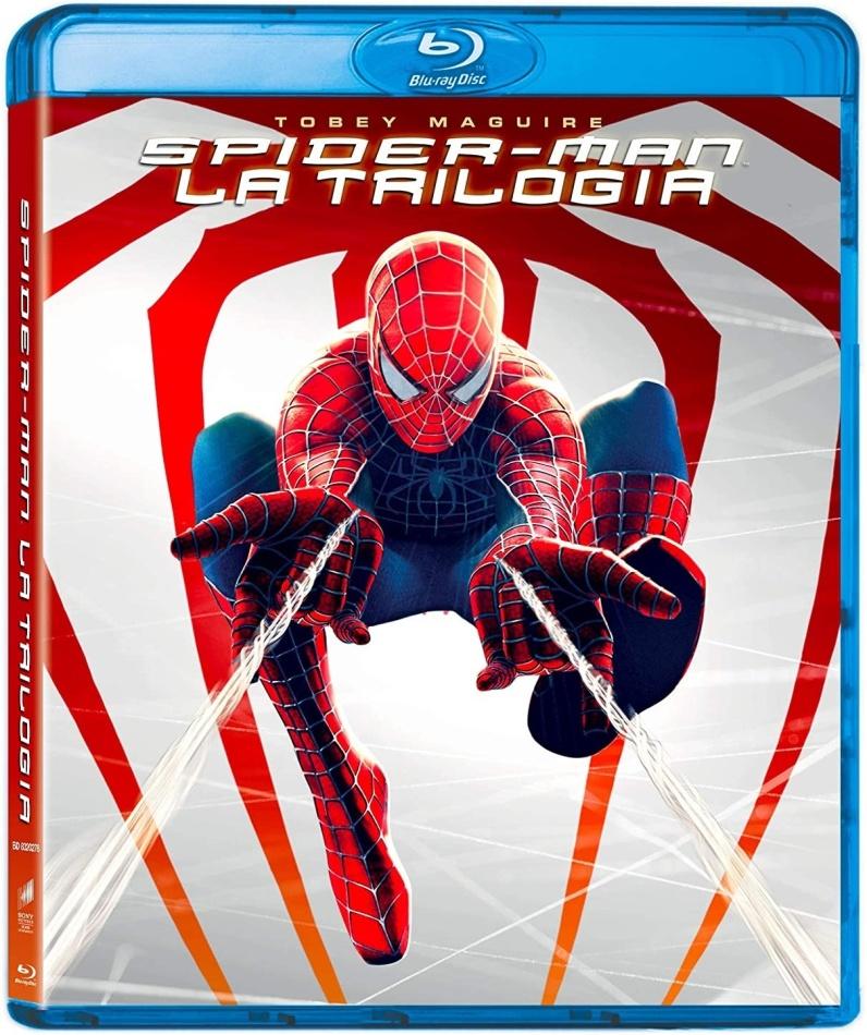 Spider-Man 1-3 (Origins Collection, Neuauflage, 3 Blu-rays)