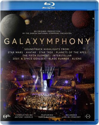 Danish National Symphony Orchestra, Antony Hermus & David Bateson - Galaxymphony