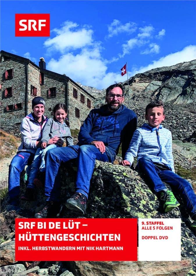 SRF bi de Lüt - Hüttengeschichten - Staffel 9 - inkl. Herbstwandern mit Nik Hartmann (2 DVDs)