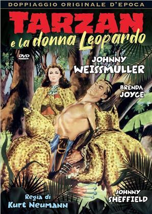 Tarzan e la donna leopardo (1946) (Doppiaggio Originale D'epoca, n/b)