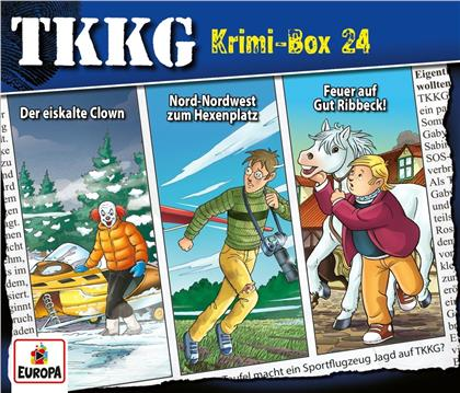 TKKG - Krimi-Box 24 (Folgen 190,191,192) (3 CDs)