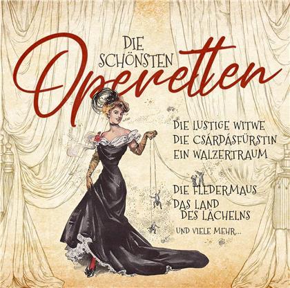 Die schönsten Operetten (2 CDs)