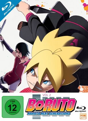 Boruto: Naruto Next Generations - Vol. 2 - Episode 16-32 (3 Blu-rays)
