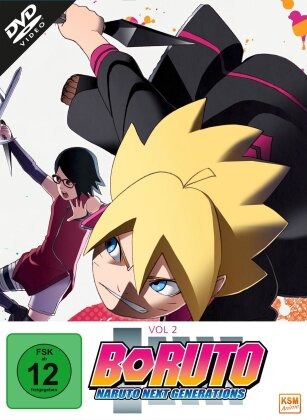 Boruto: Naruto Next Generations - Vol. 2 - Episode 16-32 (3 DVDs)