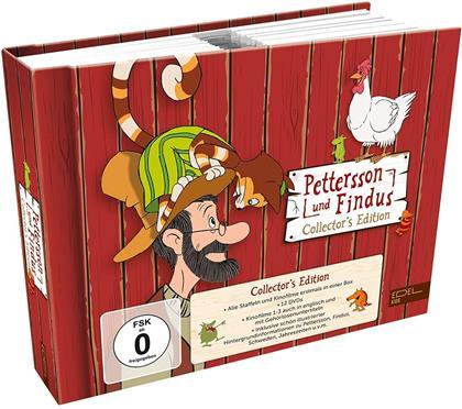 Pettersson und Findus - Alle Staffeln und Kinofilme in einer Box (Collector's Edition, 12 DVDs)