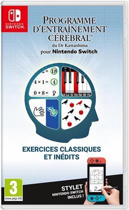 Programme d'entrainment cerebal du Dr. Kawashima pour Nintendo Switch