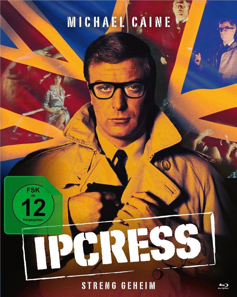 Ipcress - Streng geheim (1965) (Mediabook, 2 Blu-rays + DVD)