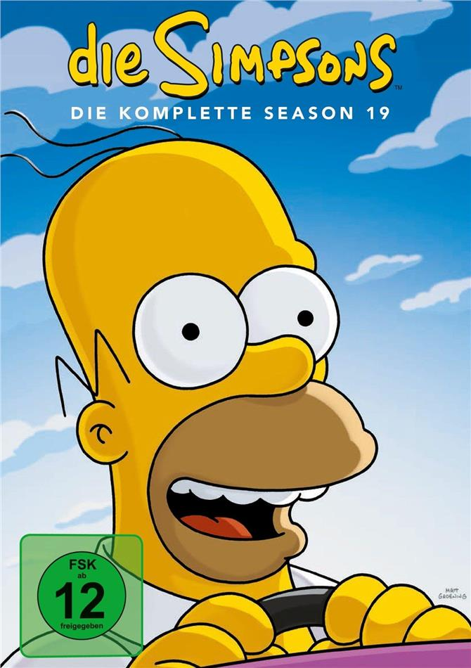 Die Simpsons - Staffel 19 (4 DVDs)