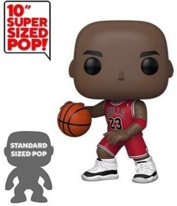 Funko Pop! Nba: - Bulls - Michael Jordan 10 (Red Jersey)