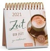 Postkartenkalender Zeit - dir Zeit zu nehmen 2021