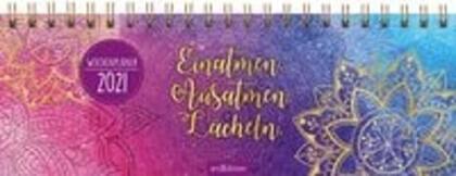Tischkalender Einatmen. Ausatmen. Lächeln. 2021