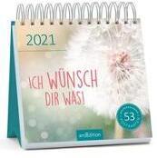 Postkartenkalender Ich wünsch dir was! 2021