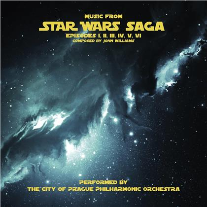 The City of Prague Philharmonic Orchestra - Music From Star Wars Saga (2 LPs)