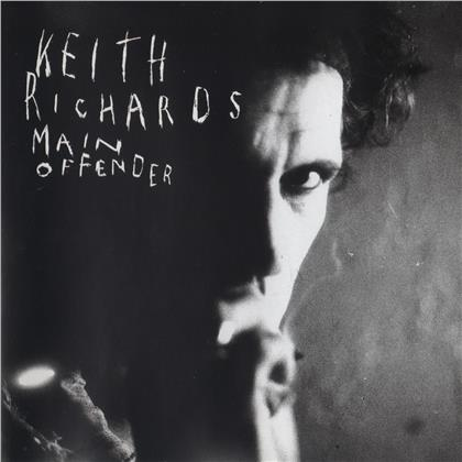 Keith Richards - Main Offender (2019 Reissue, LP)