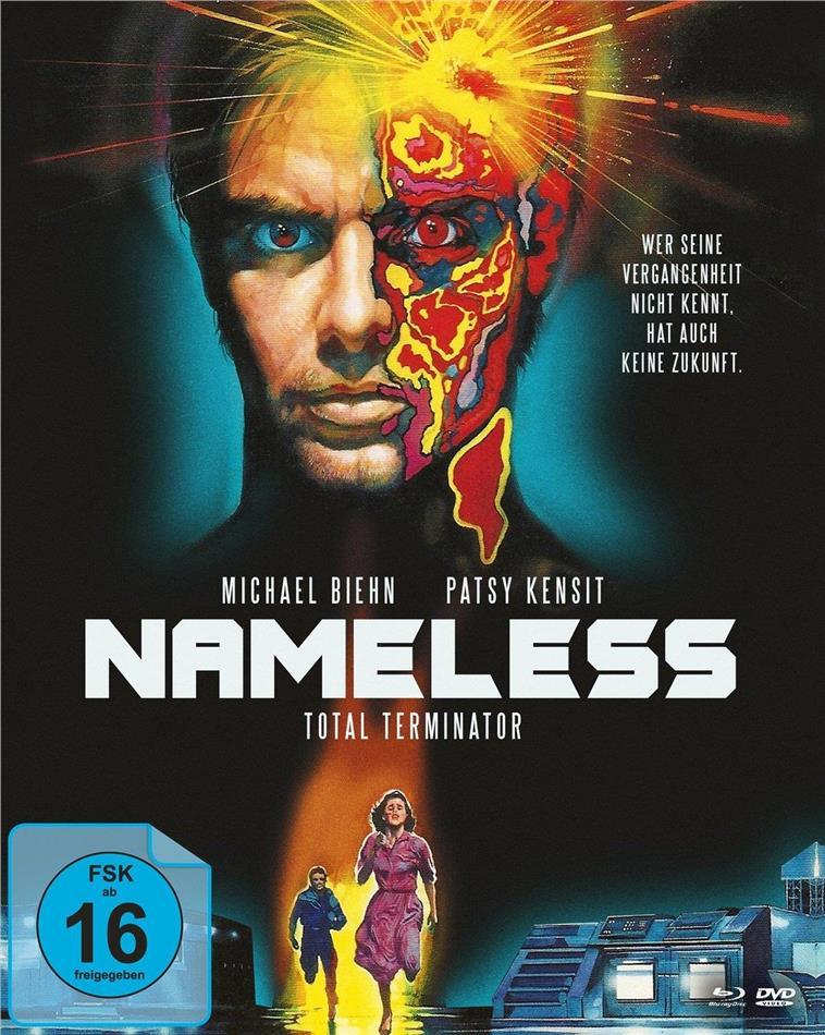 Nameless - Total Terminator (1991) (Cover A, Mediabook, Blu-ray + DVD)