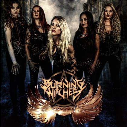 Burning Witches - Wings Of Steel EP (Limited Edition, LP)