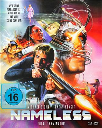 Nameless - Total Terminator (1991) (Cover B, Mediabook, Blu-ray + DVD)