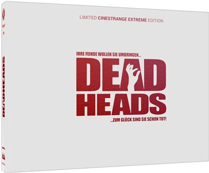 Deadheads (2011) (Wattiert, Cover Q, Limited Edition, Mediabook, Uncut, Blu-ray + DVD)
