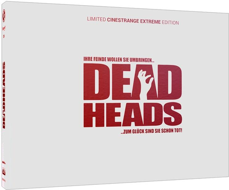 Deadheads (2011) (Wattiert, Cover Q, Limited Edition, Mediabook, Uncut, Blu-ray + DVD)