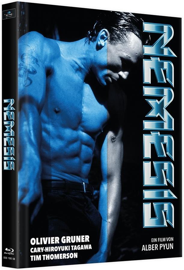 Nemesis (1992) (Cover C, Edizione Limitata, Mediabook, Versione Rimasterizzata, Uncut, 4 Blu-ray)