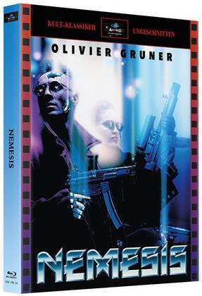Nemesis (1992) (Cover A, Kult-Klassiker Ungeschnitten, Limited Edition, Mediabook, 4 Blu-rays)