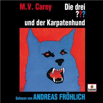 Die Drei ??? & Andreas Fröhlich - Andreas Fröhlich liest...und der Karpatenhund (4 CDs)