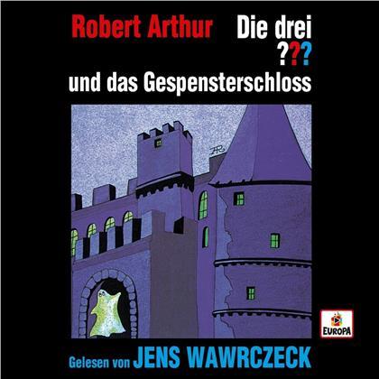 Die Drei ??? & Jens Wawrczeck - Jens Wawrczeck liest ...und das Gespensterschloß (4 CDs)