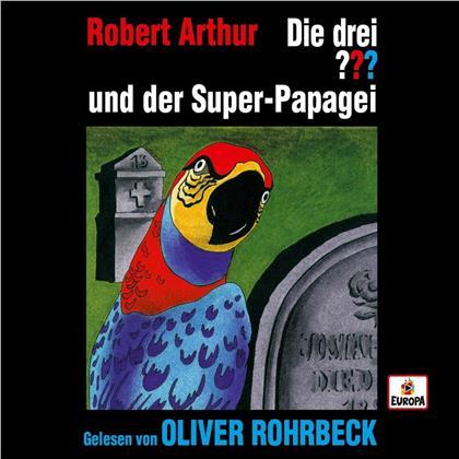Die Drei ??? & Oliver Rohrbeck - Oliver Rohrbeck liest ...und der Super-Papagei (4 CDs)