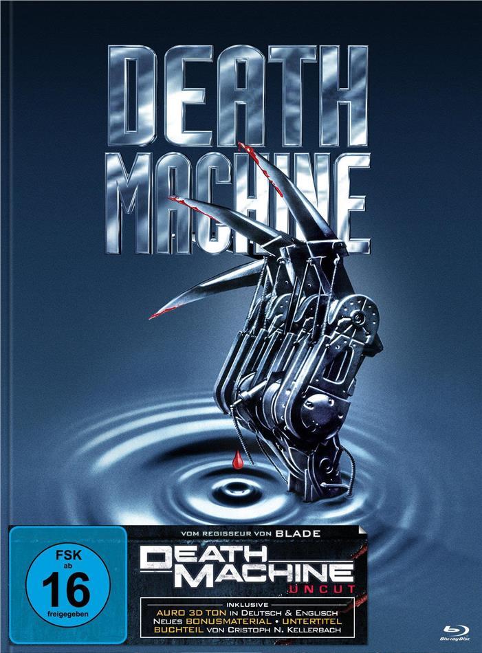 Death Machine (1994) (Cover B, Limited Edition, Mediabook, Uncut, Blu-ray + DVD)