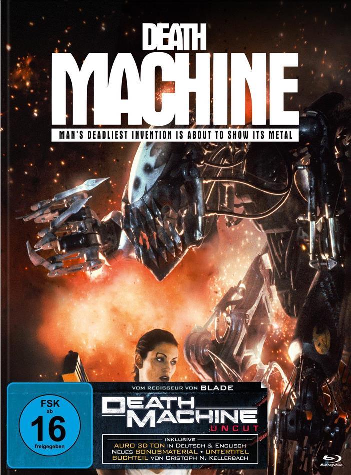 Death Machine (1994) (Cover C, Limited Edition, Mediabook, Uncut, Blu-ray + DVD)