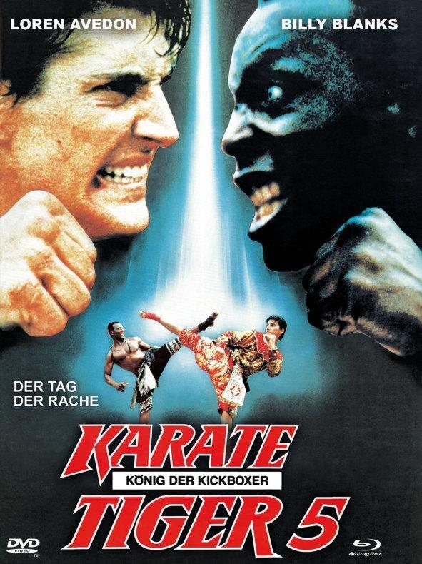 Karate Tiger 5 - König der Kickboxer (1990) (Cover A, Limited Edition, Mediabook, Blu-ray + DVD)
