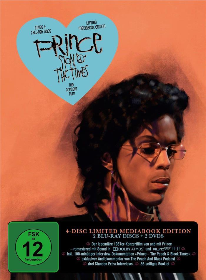 "Prince – Sign ""O"" the Times (Edizione Limitata, Mediabook, 2 Blu-ray + 2 DVD)"