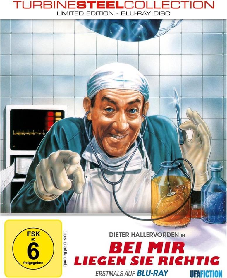 Bei mir liegen Sie richtig (1990) (Turbine Steel Collection, Limited Edition, Steelbook)