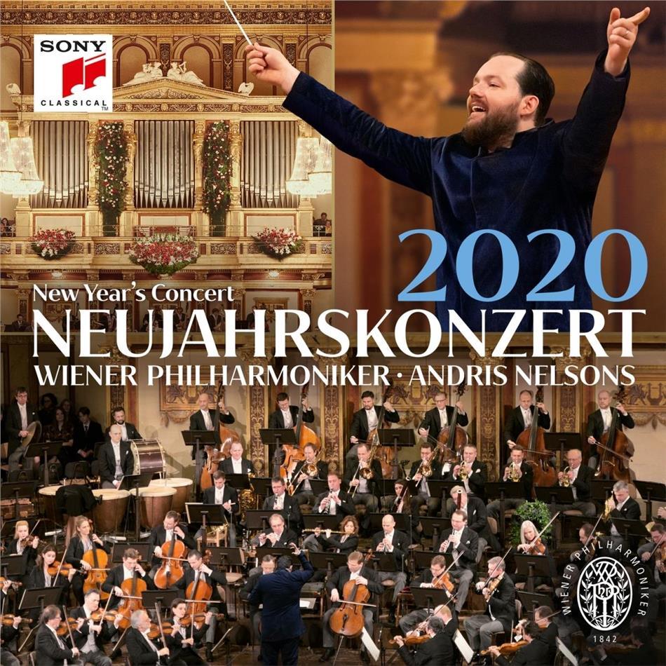 Andris Nelsons & Wiener Philharmoniker - Neujahrskonzert 2020 (2 CDs)