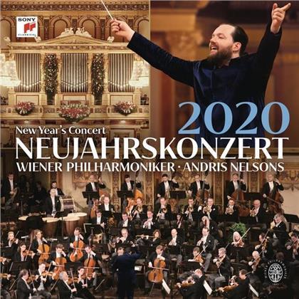 Andris Nelsons & Wiener Philharmoniker - Neujahrskonzert 2020 (LP)