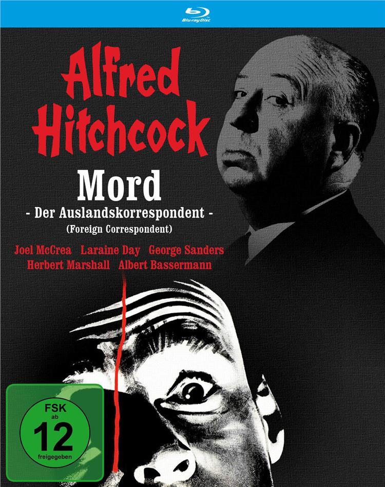 Mord - Der Auslandskorrespondent (1940) (Filmjuwelen, s/w)