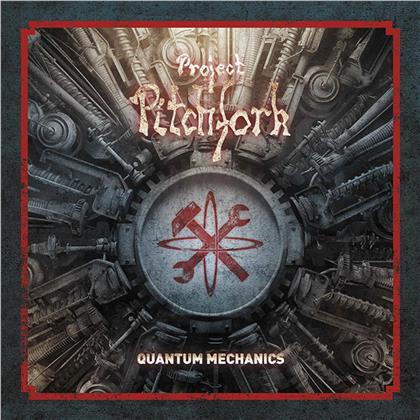 Project Pitchfork - Quantum Mechanics (2019 Reissue, Limited Edition, Arctic Blue Vinyl, LP + CD)