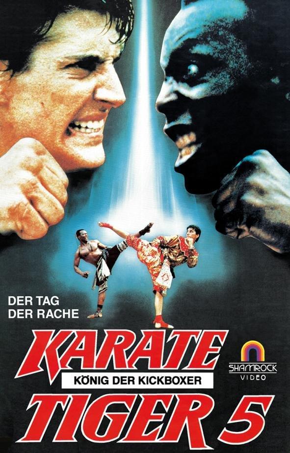 Karate Tiger 5 - König der Kickboxer (1990) (Grosse Hartbox, Limited Edition, Blu-ray + DVD)