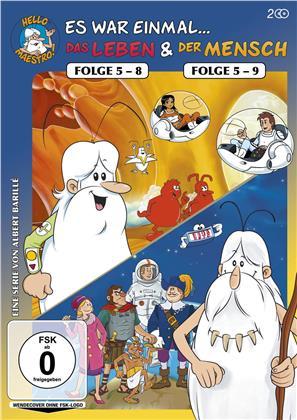 Es war einmal... Das Leben Folge 5-8 & Es war einmal... Der Mensch Folge 5-9 (2 DVDs)