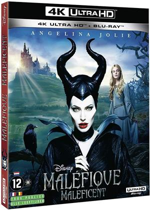 Maléfique - Maleficent (2014) (4K Ultra HD + Blu-ray)