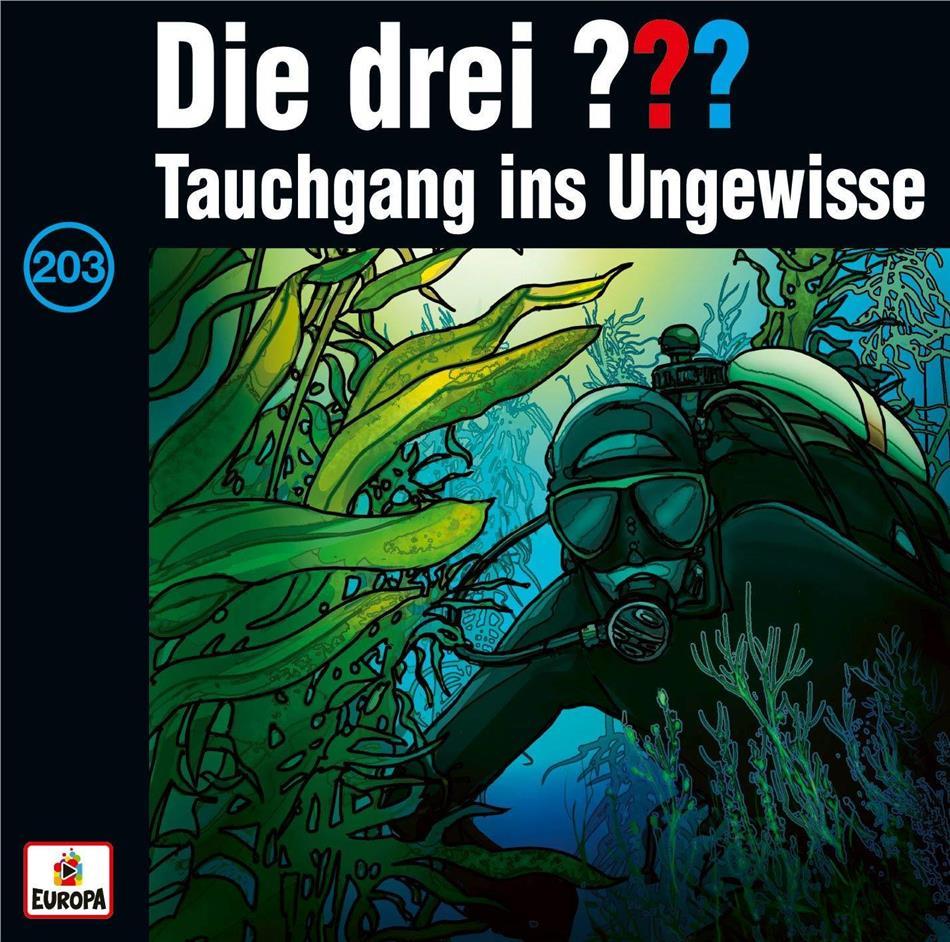 Die Drei ??? - 203/Tauchgang ins Ungewisse (2 LPs)