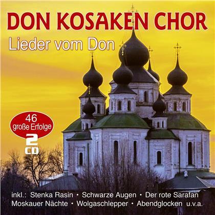 Don Kosaken Chor - Lieder Vom Don - 46 Original Aufnahmen (2 CDs)