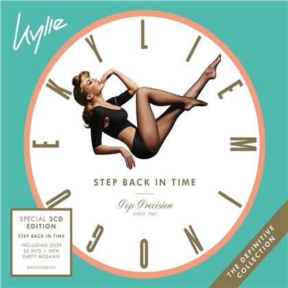 Kylie Minogue - Step Back In Time:The Definitive Collection (3 CDs)