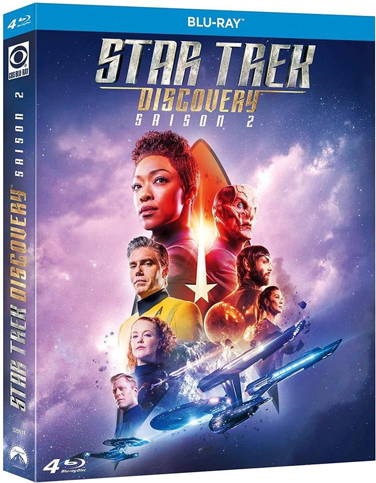 Star Trek Discovery - Saison 2 (4 Blu-ray)