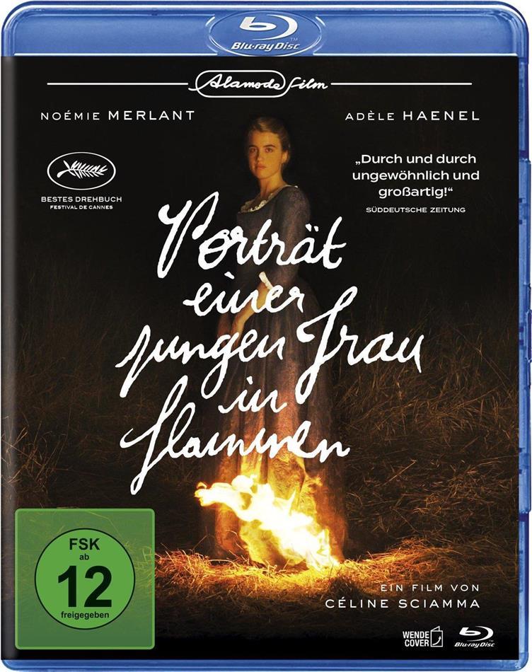 Porträt einer jungen Frau in Flammen (2019) (Australian Edition)