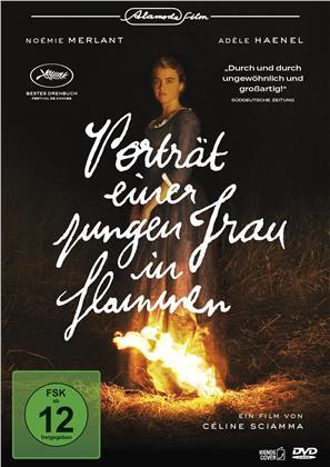Porträt einer jungen Frau in Flammen (2019)