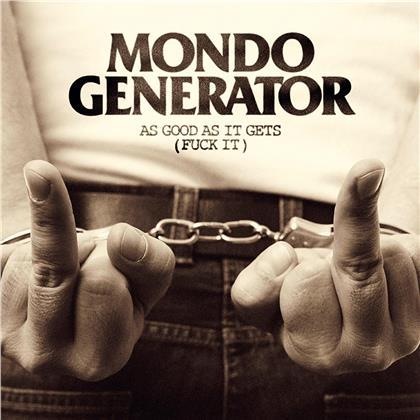 Mondo Generator (Nick Oliveri) - As Good As It Gets (Fuck It) (Orange Vinyl, LP)