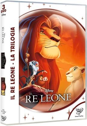Il Re Leone - La collezione completa (Riedizione, 3 DVD)