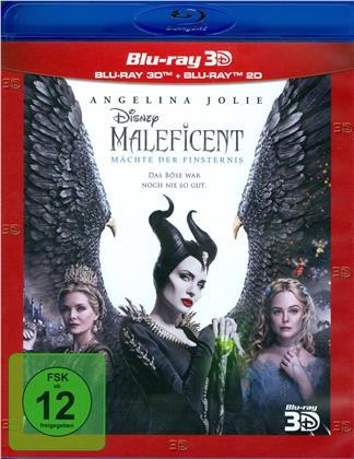 Maleficent 2 - Mächte der Finsternis (2019) (Blu-ray 3D + Blu-ray)