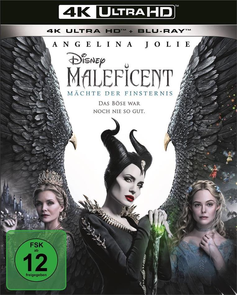 Maleficent 2 - Mächte der Finsternis (2019) (4K Ultra HD + Blu-ray)